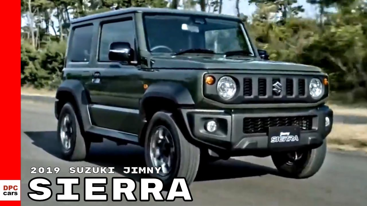 2019 Suzuki Jimny Sierra - YouTube
