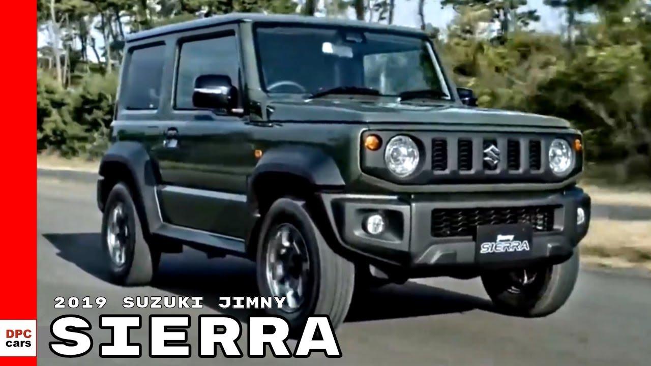 2019 Suzuki Jimny Sierra Youtube