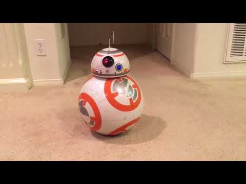 SpinMaster's BB-8 - voice commands sampling