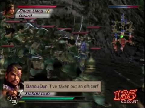 Dynasty Warriors 4 Wei Walkthrough Part 17 Battle of Wu Zhang Plains