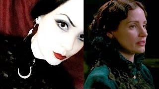 Victorian Inspired Hair - Lady Lucille Sharpe in Crimson Peak