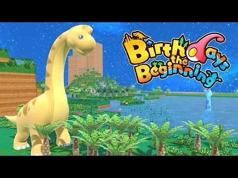 Loch Ness Monster and Real Dinosaurs! - Let's Play Birthday's The Beginnings Gameplay