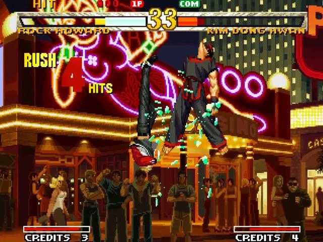Jouez à Garou Mark of the Wolves sur SNK Neo Geo grâce à nos Bartops Arcade et Consoles Retrogaming