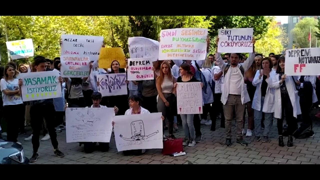 Istanbul Universitesi Veteriner Fakultesi Ogrencileri Korkuyoruz