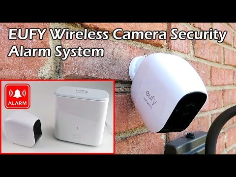 EUFY Wireless Camera Security Alarm System – Rechargeable 1 Year Battery Life