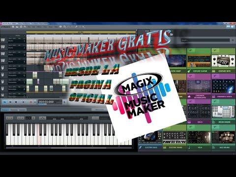 MAGIX MUSIC MAKER GRATIS DESDE LA PAGINA OFICIAL Y PARA SIEMPRE