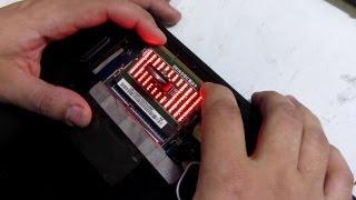 Ремонт ACER Aspire 5253G Платформа Compal LA 7092P P5WE6 использовался Сокет тестер DDR3
