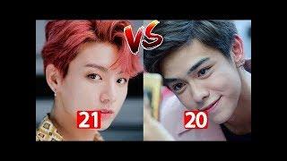 Chùm ảnh thời thơ ấu của Chird Kamikaze vs Jungkook BTS. Các Fan thấy ai dễ thương hơn nè.