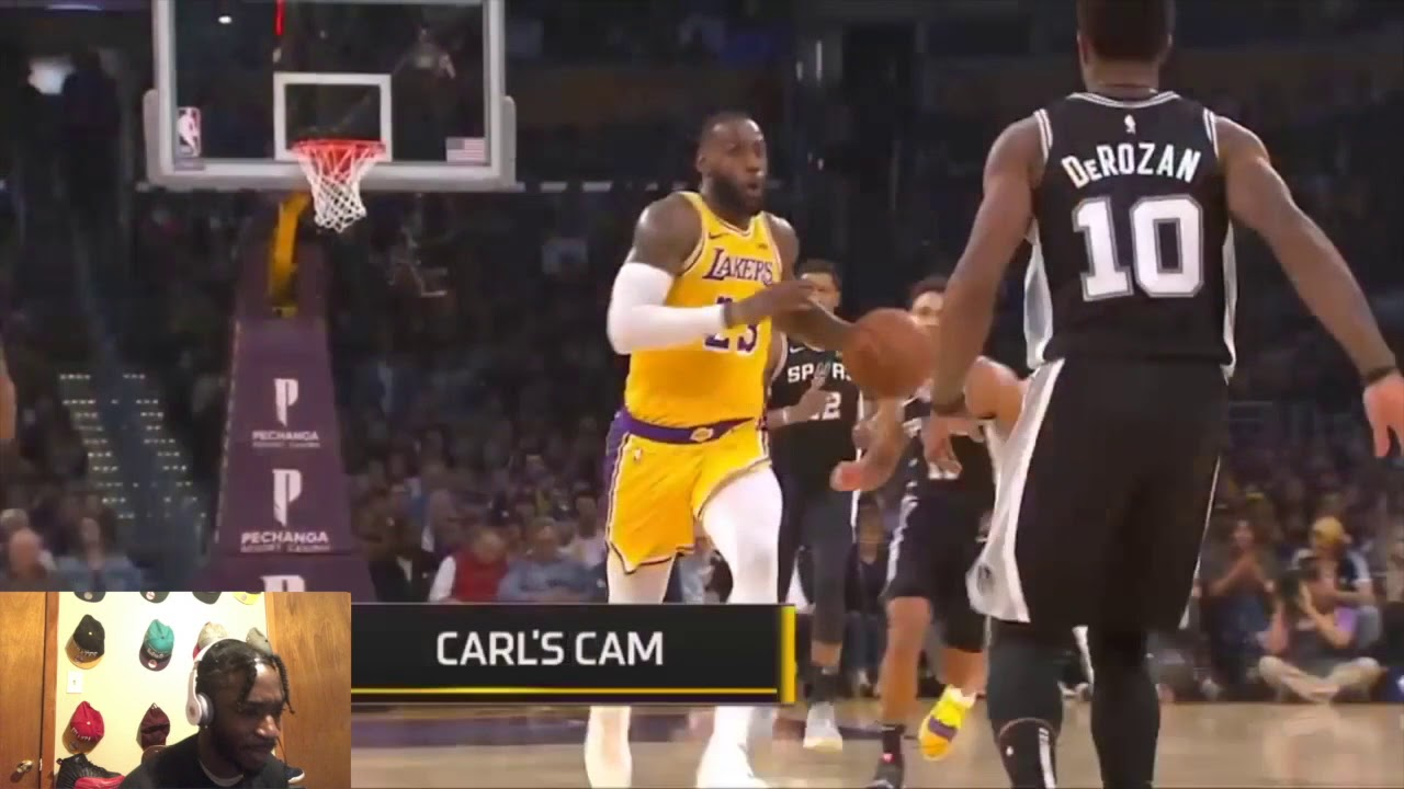 e12d029df LEBRON CHOKED IN O.T. LAKERS VS SPURS FULL GAME HIGHLIGHTS 10-22-18 Lakers  vs spurs 10-22-18
