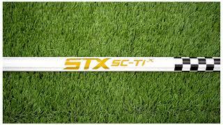 STX SC-TI X Alloy Checkerboard Lacrosse Shaft