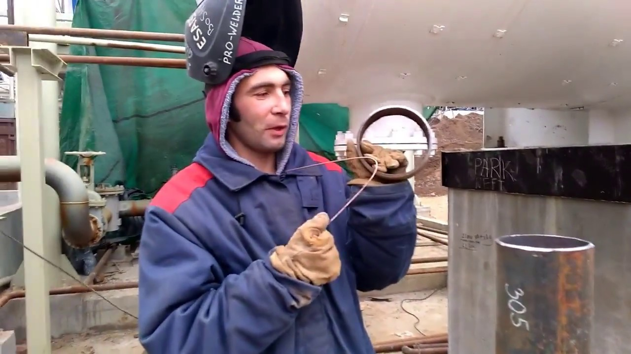 сварка трубы диаметр 159