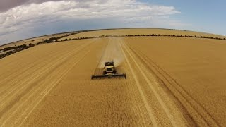 South Australian Harvest 2014 by Drone & GoPro HD