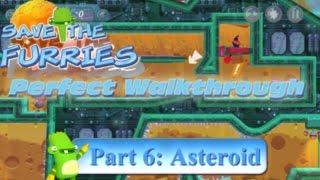 Save the Furries PC/Steam Walkthrough World 6 Asteroid END (Levels 51-60)