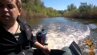 Мотор Fisher 2,5 после тюнинга