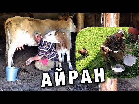 АЙРАН карачаево-балкарский. ГОТОВИТ ГОРЕЦ - Ayran