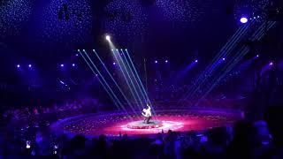 Tim Kriegler Aerial straps- Festival International du Cirque de Monte Carlo/ Silver medal