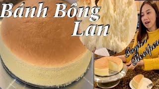 Bánh bông lan mềm nhẹ xốp đẹp ngon trên cả tuyệt vời - Sponge Cake - Taylor Recipes - Cuộc Sống Mỹ