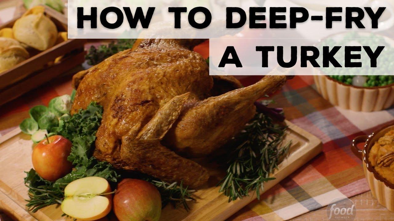 How to deep fry a turkey food network youtube how to deep fry a turkey food network forumfinder Choice Image