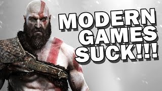 MODERN GAMES SUCK!!! - Square Eyed Shorty
