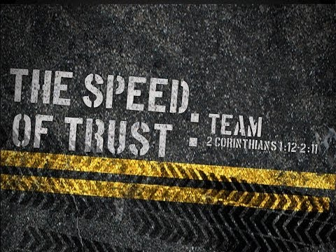 THE SPEED OF TRUST Team
