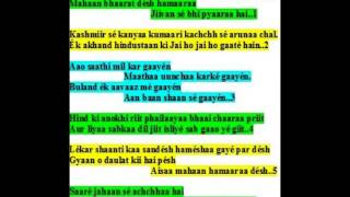 ramkrishna das sings patriotic song in hindi-pyaaraa aazaad bhaarat hai
