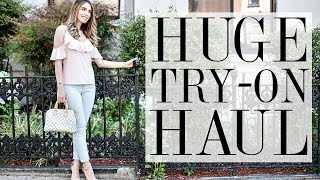 HUGE TRY-ON CLOTHING & SHOE HAUL | Nordstrom, Tory Burch, ASOS, Express & Zara! | Shea Whitney