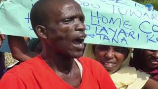Tana River residents hold demos accusing the County assembly of plotting to frustrate the Governor