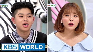 Hello Counselor - MC Gree, Hong Jinyoung [ENG/THA/2017.02.20]