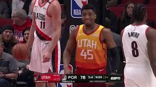 Utah Jazz vs Portland Trailblazers  bcb1aa28f