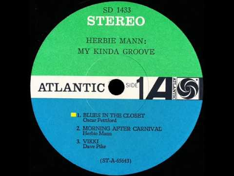 Herbie Mann - Blues In The Closet - ATLANTIC LP 1433