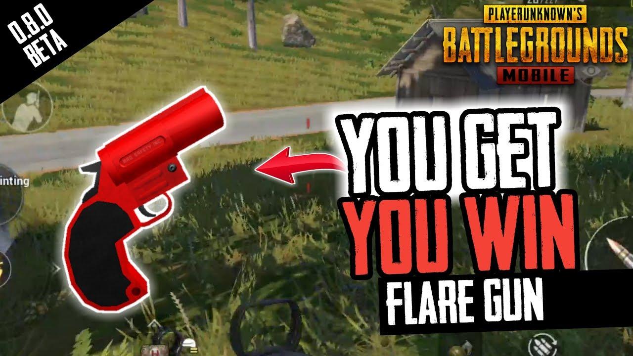Flare Gun 0 8 0 Update Pubg Mobile Youtube