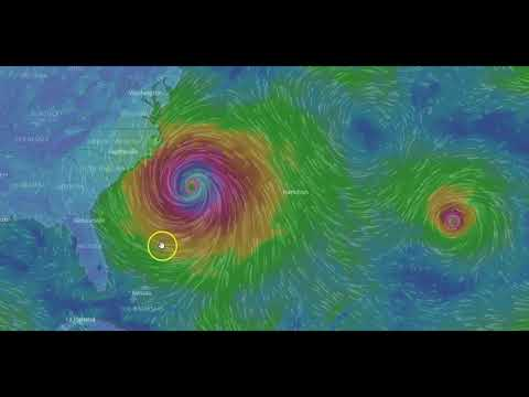 Hurricane Maria Now a Cat 1 Update AM Monday Sept 25 2017