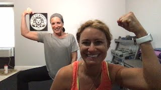 Tuesday Tabata with CAT & Meg
