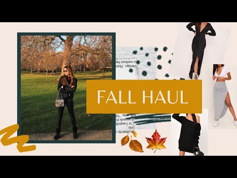 [VIDEO] - FALL OUTFIT IDEAS! I Saw It First Try On Haul   Luiza Frujuelli 5
