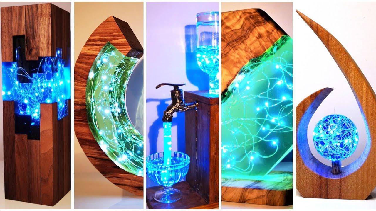 Amazing Epoxy Resin Lamps