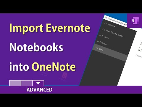 OneNote: How To Import Evernote Into OneNote By Chris Menard
