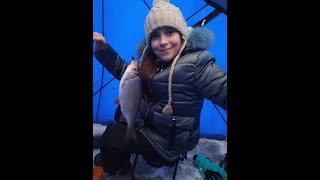 Рыбалка с дочкой на Первом озере