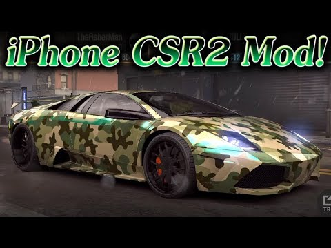 CSR Racing 2 1.13.4 - iPhone Mod Showoff - iOS Cheats