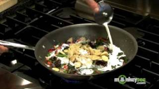 Saute' Pasta With Vegetables