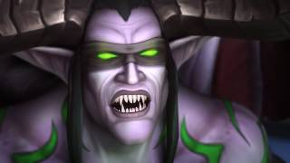 Argus Defeat Cinematic and Sargeras Fall