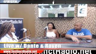 Live with Dante and Raven interview Lea Lea (@thesweetlealea)
