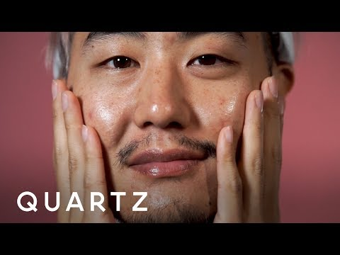 Korea's daily, multi-step skincare routine for men