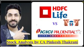 HDFC Life Vs ICICI Pru Life - Deep Analysis: कही छूट ना जाये ये सुन्हेरा मौका by CA Pinkesh Thakrani
