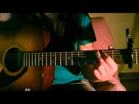 nothing - the script Chords guitar cover - YouTube