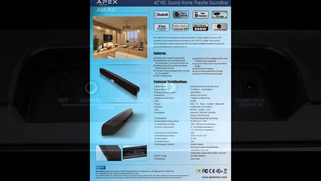 APEX ASB-900 40\