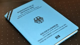 "Handbook Germany | What is a ""Blue Passport""?"