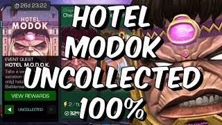Hotel MODOK Uncollected Difficulty 100% Push! - Part 2 - Marvel Contest Of Champions