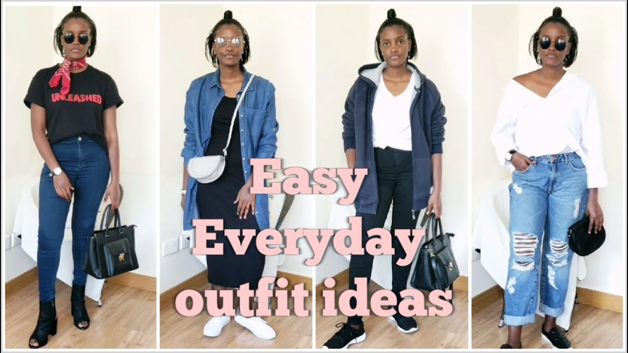 7 EASY EVERYDAY OUTFIT IDEAS LOOKBOOK [ KateKavoi ] 9