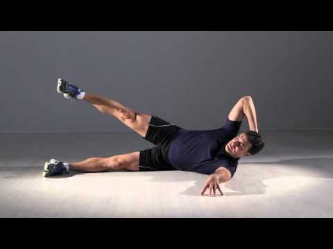 Move Of The Week: Side Crunch With Leg Lift