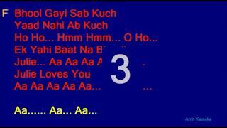 Bhool Gaya Sab Kuch | Karaoke For Male Singers | Julie | Female Voice by Sanya Shree❤